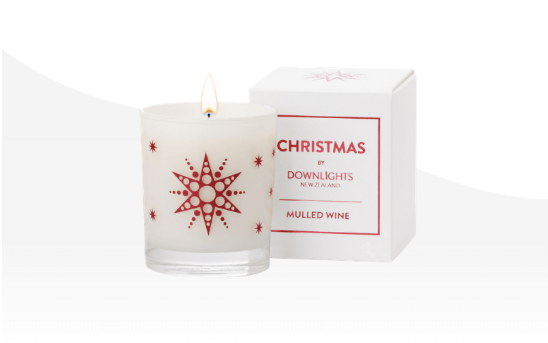 Downlights candle Mulled Wine